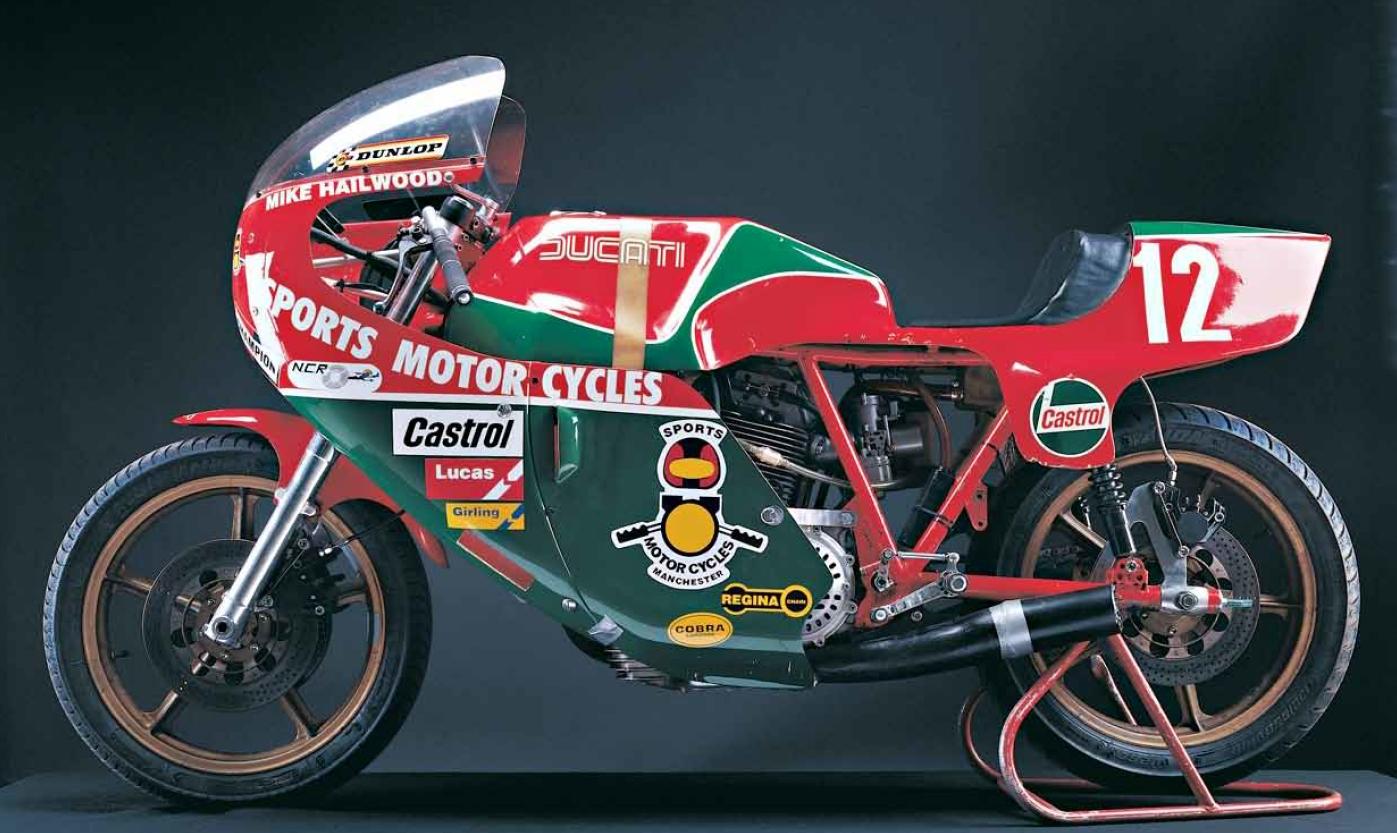Mike Hailwood aux TT 1978-1979